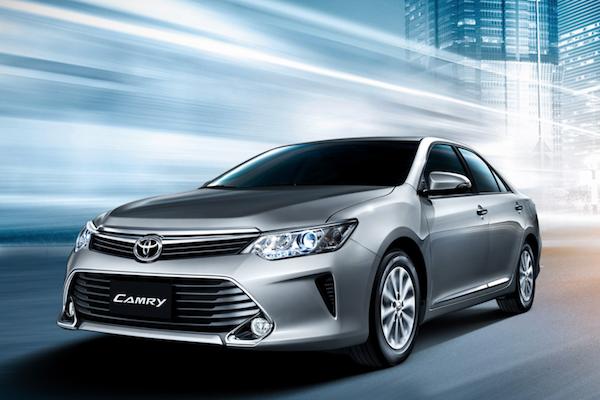 新年式 Toyota Camry 將有 7 氣囊,Yaris 及 Vios 安全配備也升級!
