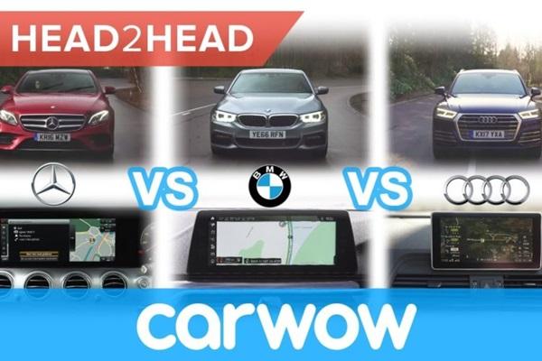 車載多媒體影音系統大比拚!M-Benz、BMW 與 Audi 誰比較強?(內有影片)