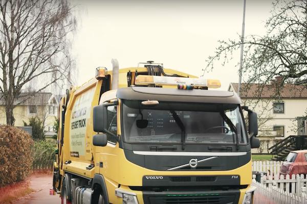 自動駕駛無極限,竟讓垃圾車也能自己開車?(內有影片)