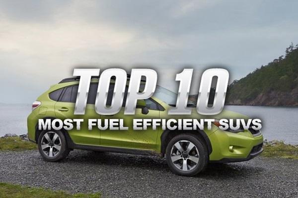 美媒推 10 大最省油休旅車,每年平均油錢都幫你算出來了!
