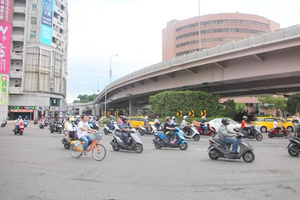 台北市去年 10 大肇事路段  公館圓環不是第一名