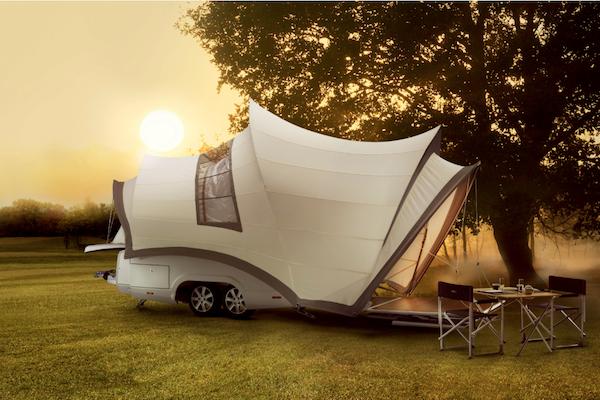根本是文青最愛!Opera 雪梨歌劇院造型露營拖車讓人不想回家(內有影片)