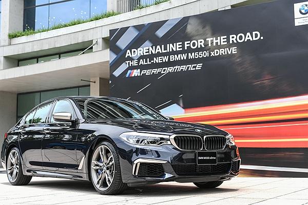 M5 還沒現身時我最強! BMW M550i xDrive 挾 462 匹馬力抵台開賣