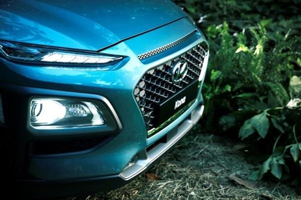 分離頭燈超前衛,Hyundai 全新跨界休旅 Kona 正式登場!(內有相片集)