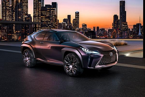 豪華跨界市場再掀戰火! Lexus UX 量產時間確定