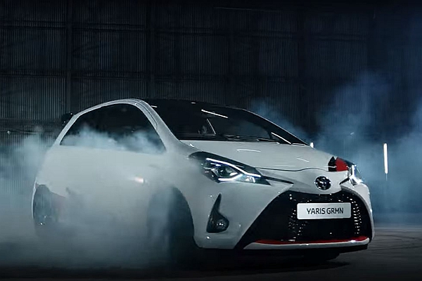 這輛 Toyota Yaris 會燒胎! GRMN 性能版先聲奪人(內有影片)