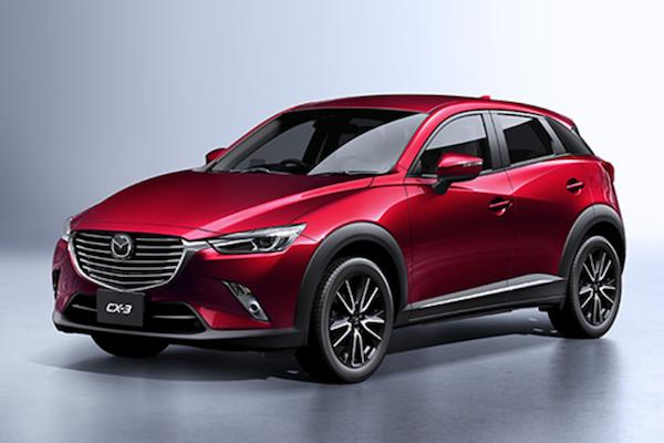 Mazda CX-3 小改款日本今天發表!台灣上市也不遠了