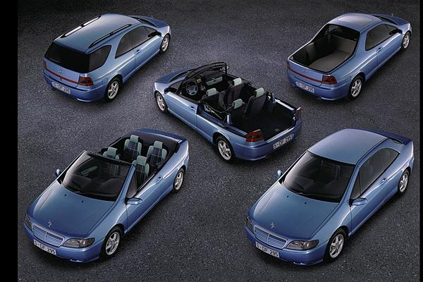 這才是真正跨界,賓士多變概念車竟然是 22 年前的產物!(內有相片集)