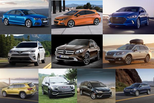 美國租賃購車盛行,民眾最有興趣的 10 大汽車品牌排行榜!