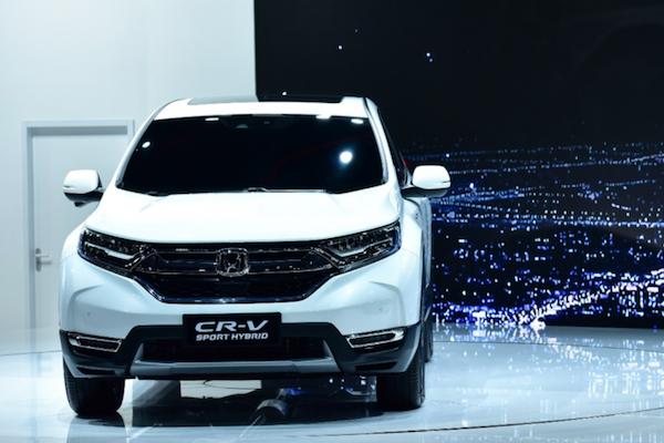 中國 Honda CR-V 油電車配備曝光!全景天窗及按鍵式電子排檔都成標配