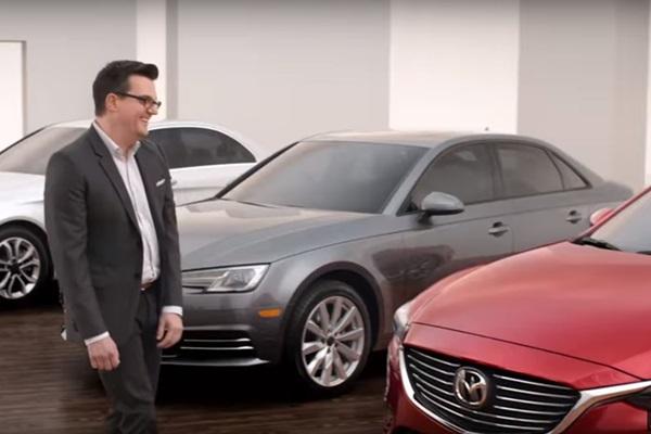 直接對決兩大豪華品牌,Mazda 超狂影片掀討論!(內有影片)