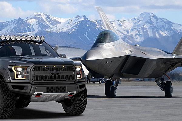 全球唯一 F-22 猛禽戰鬥機特仕車?今年 EAA 航空展有新亮點!(內有影片)