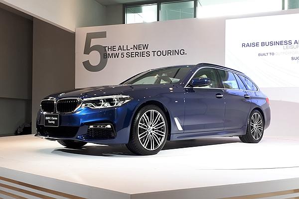 BMW 5 系列 Touring 旅行車發表3款新車型!豪華大空間引休旅市場激戰