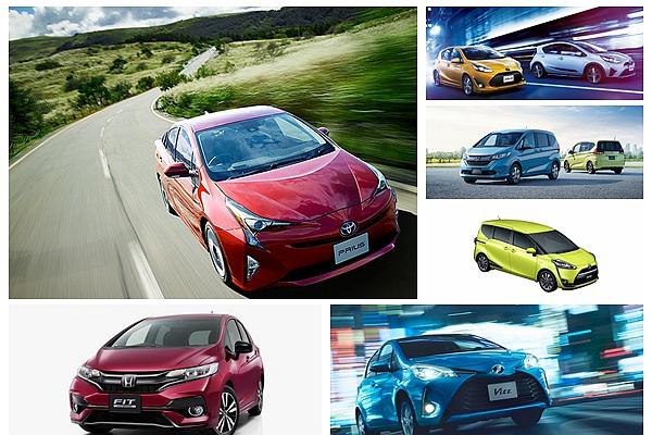 日本市場 Toyota 汽車最暢銷不意外,但 2017 上半年 Top 10 也奪下太多名次了吧!