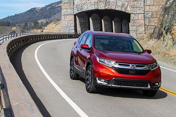 北美上半年最暢銷都會 SUV ,新世代 Honda CR-V 竟落敗日系競爭對手!