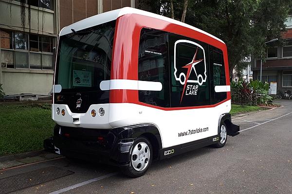 完成第一與最後一哩接駁之路!無人駕駛巴士臺灣大學校區測試啟動