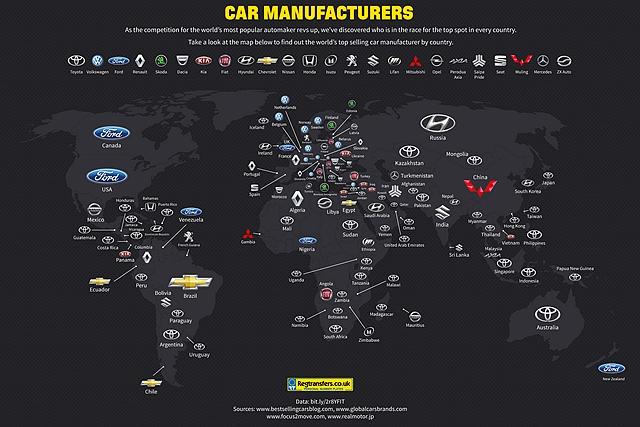 全球 49 個國家認證最受歡迎車廠是它!台灣當然也是超級粉絲