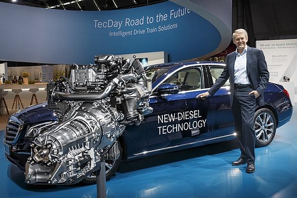 被點名柴油引擎排污超標!賓士霸氣自掏腰包更新 300 萬輛柴油車