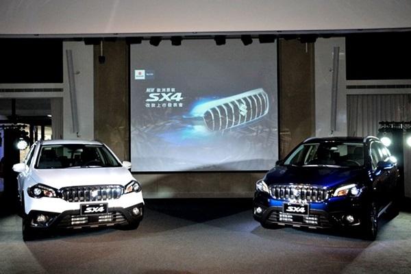 1 個打 10 個!Suzuki 全新跨界休旅 SX4 單一車型上市(內有相片集)