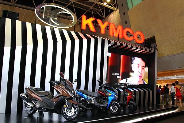 KYMCO AK550 現身國際重型機車展!為台灣二輪最大盛事揭開序幕