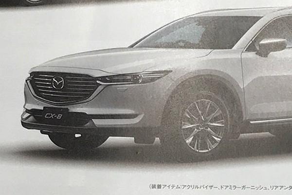 只有柴油引擎單一設定? Mazda CX-8 車身樣貌終曝光