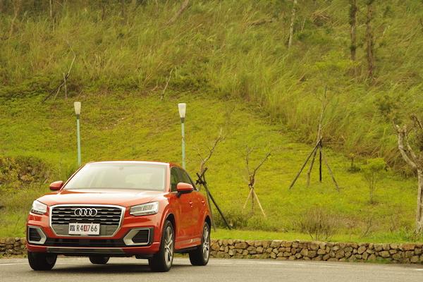 絕對不只是好看而已!也有駕馭樂趣的小跨界 Audi Q2 試駕(內有影音)
