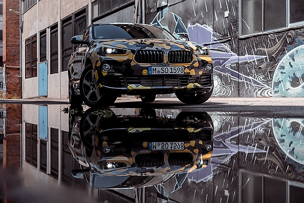 BMW 休旅大爆發!除了 X7 , X2 走時尚路線偽裝照也曝光了!