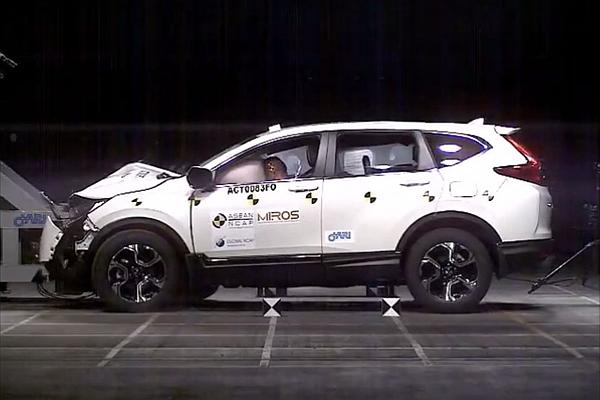 新 Honda CR-V 東南亞首撞!在 ASEAN NCAP 奪下高分成績(內有影片)