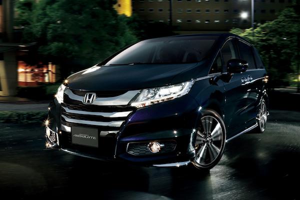新定速功能起步後就能用!日媒爆 Honda Odyssey 小改款年底發表