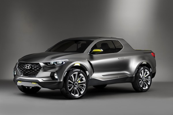 Hyundai 準備推出皮卡車!2020 年搶北美市場