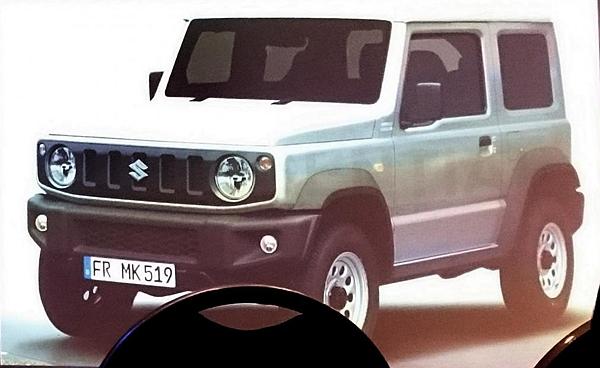 還是走自己的硬派路線!全新 Suzuki Jimny 外觀設計曝光