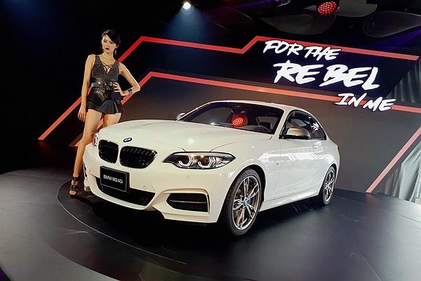 M2 限量150部!BMW 2 系列後驅雙門跑車小改款狂野發表