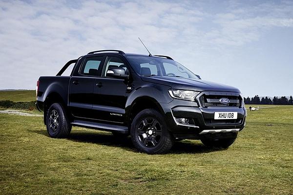 黑色元素正流行? Black Edition 也入侵歐洲最暢銷皮卡 Ford Ranger