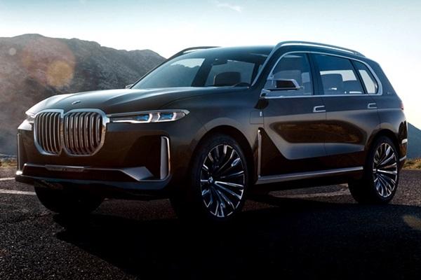 休旅車大哥就應該超霸氣,BMW X7 概念廠圖搶先曝光!(內有相片集)