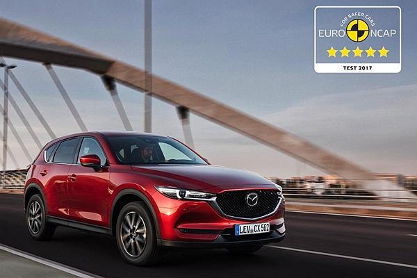 再獲 Euro NCAP 五顆星評價!Mazda CX-5 為何能稱霸歐、美撞擊測試?(內有影片)