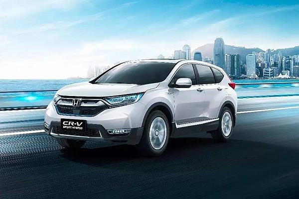 歐洲 Honda CR-V Hybrid 還在概念!中國市場已經開始交車