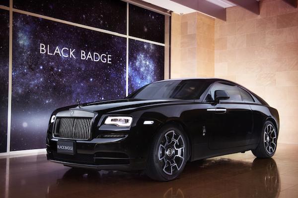 名人最愛的勞斯萊斯,新款雙門跑車 Wraith Black Badge 台灣發表!