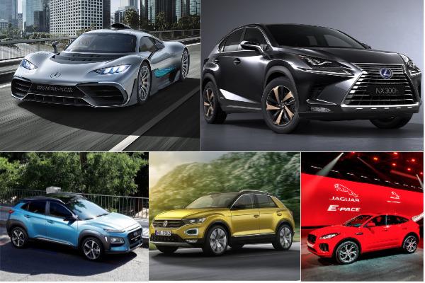 德國法蘭克福車展今天開幕!10 款高顏值新車這裡看