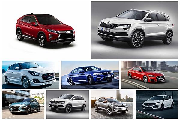 明年好車有那些?2018 世界年度風雲車入圍名單出爐