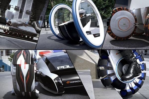 輪胎還能爬樓梯!法蘭克福車展驚現 3 款概念輪胎(內有影片)