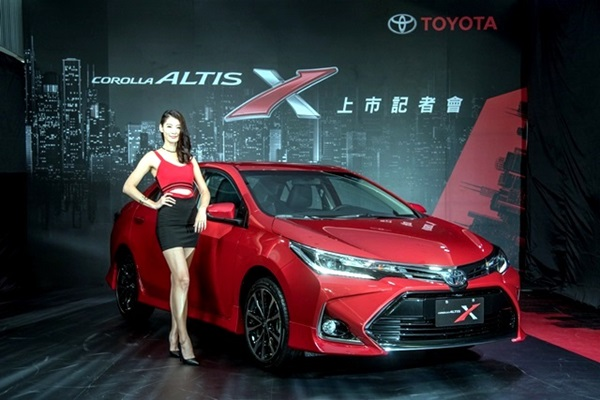 「神A」也要動感熱血!Toyota Altis X 在台灣全球首發(內有相片集)