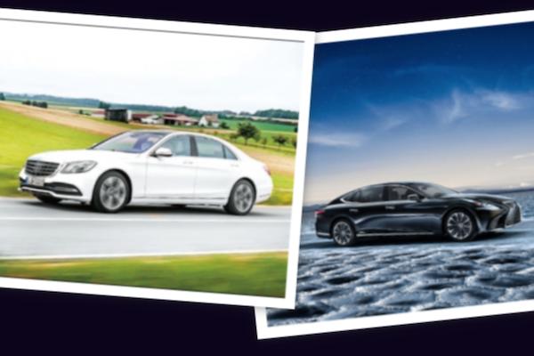 豪華旗艦房車第 4 季拚了! Lexus LS 第 5 代對上 M-Benz S-Class 小改款