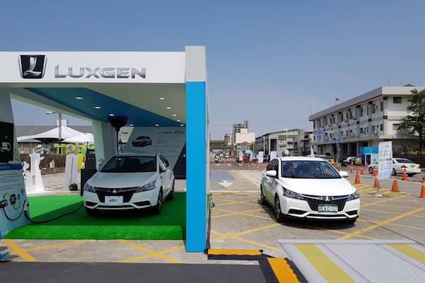 有大螢幕及 AR 環車!Luxgen S3 電動車今開放試乘