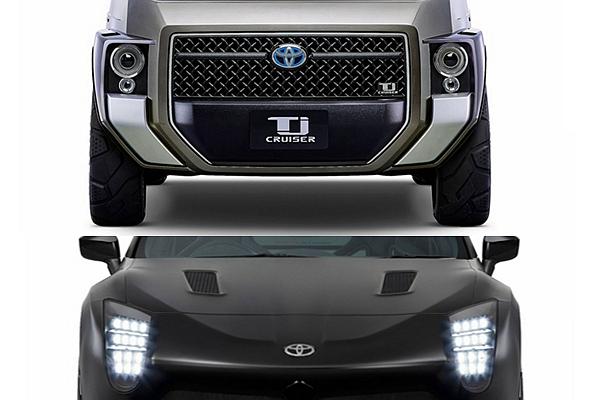 這不是印象中的 Toyota!東京車展發表的兩款概念車實在驚為天人(內有相片集)