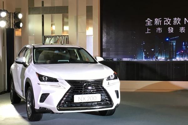 Lexus NX 小改款今天發表,新車型 NX 200 售價下殺搶市場!(內有影片)