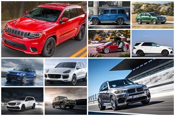 2018 性能最強 10 款休旅車公布!這家品牌就佔據 4 款之多!