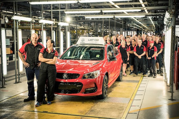 慘遭進口車 KO!澳洲從今天起不再生產國產車