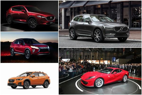 2018 歐洲年度風雲車初選名單公佈,多款入圍新車明年可望引進台灣!