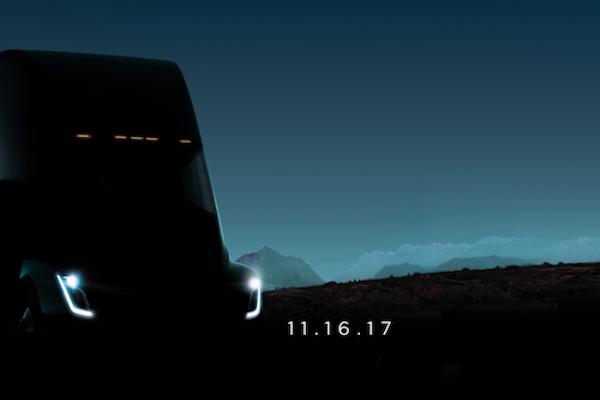 官方正式公佈上市日期!Tesla 首款電動卡車 11 月 16 日現身