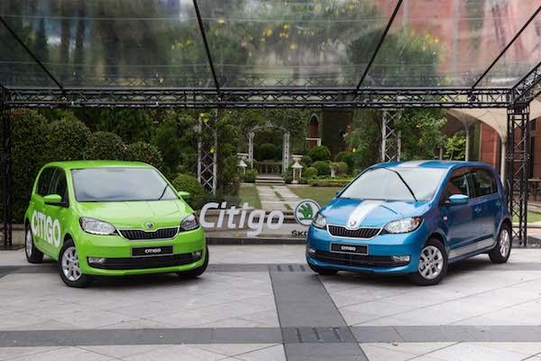 開出國產車售價!Skoda Citigo 小改款打出 50 萬有找車型